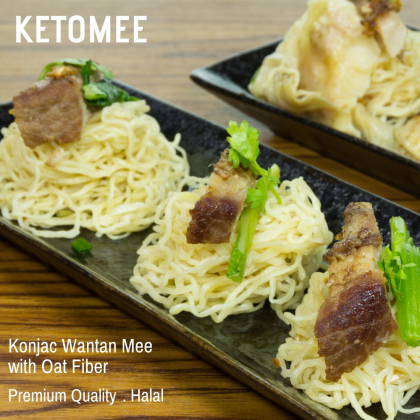 Konjac Wantan Mee with Oat Fiber - Single Pack